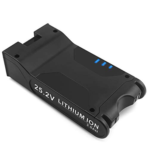 Advtronics 25.2V 3000mAh XBAT200 Replacement Battery Compatible with Shark ION Rocket IONFlex ION F80 IONFlex 2X Cordless Vacuums, Battery for Shark Cordless Vacuum