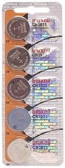 1pc Maxell Cr2025 3v Lithium Button Coin Cell Battery General Purpose Batteries & Battery Chargers at amazon