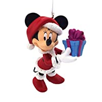 Hallmark Disney Minnie Mouse as Santa Claus Christmas Ornament