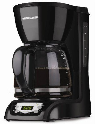 BLACK+DECKER CM1160B 12 Cup Programmable Coffee Maker, Digital Control Programmable Coffee Maker