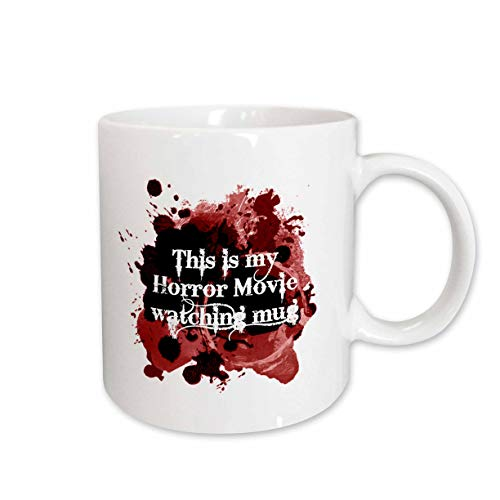 3dRose InspirationzStore - Occasions - This is my Horror Movie watching mug - for scary halloween film fans - 15oz Two-Tone Black Mug (mug_317314_9)]()