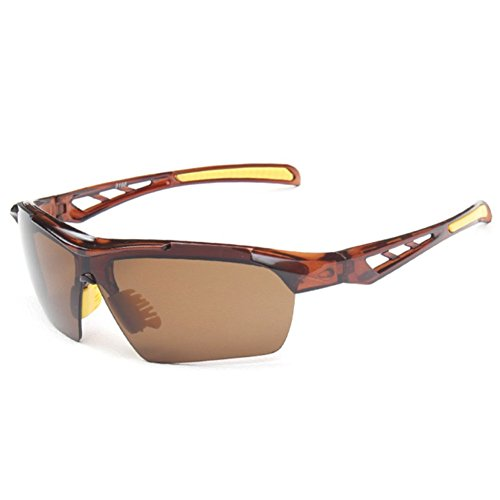 Sinkfish SG80023 Cycling Sunglasses for Women,Anti-UV & Fashion Reflector - UV400/Brown - Sunglasses Online Fiorelli