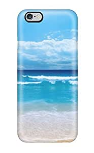 High Quality 1 Blue Waves Beachp Case For Iphone 6 Plus / Perfect Case