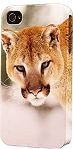 Cougar In Snow Dimensional Case Fits iPhone 6