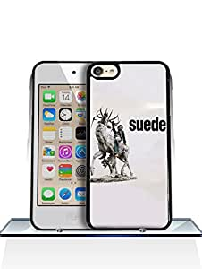 For IPod Touch 6th Funda Case, Gift For Friends, Logo Of Suede Special Design Fun Classic Ultra Thin PC + Drop Protection Printed Plastic Protective Funda Case