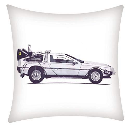 QBQCBB Pillow Case Polyester Fiber Cushion Sofa Car Cushion Cover Home Decoration 45x51cm(F)