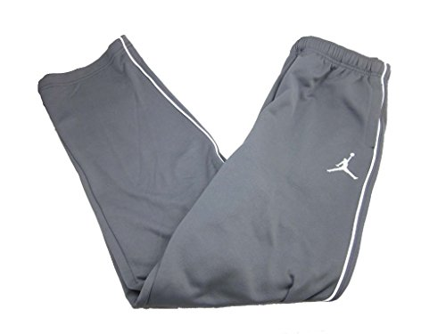 Nike Boys Youth Air Jordan Therma Fit Track Pants (Extra Large, Grey/White)