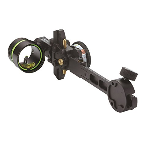 HHA Sports Optimizer Lite King Pin .010 Archery Sight, Black