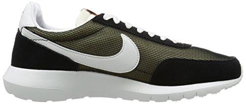 Nike Mens Roshe Dbreak Nm Scarpa Da Corsa Alta Alla Caviglia Nero / Vertice Bianco-arancio Totale-blu Varsity