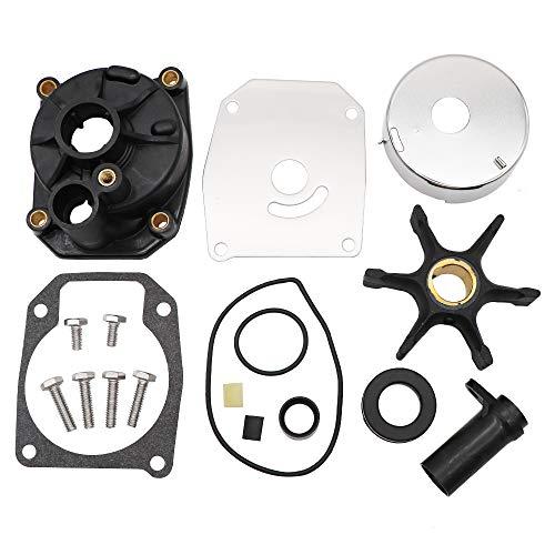 (KIPA Impeller Water Pump Repair Kit for EVINRUDE Johnson 60 70 75 Hp 3 Cylinders Outboard Engines OEM Part Number 432955)