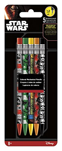 Inkworks Star Wars The Force Awakens Colored Mechanical Pencils (5 -