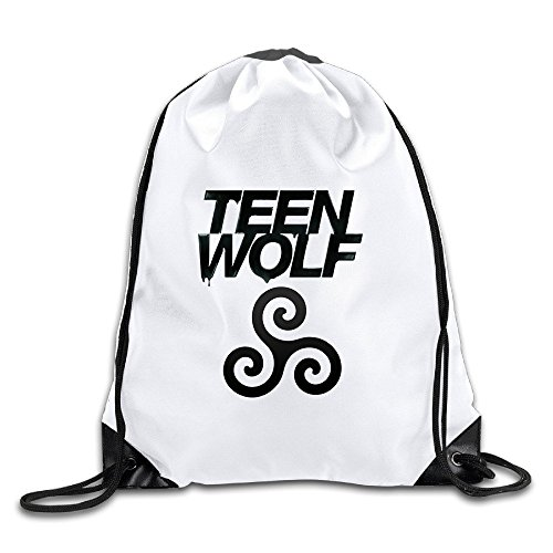 CACA Teen Wolf Logo Drawstring Backpack Sack (Akuma Costume Pack)