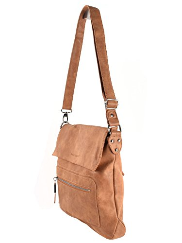 Body Braun Women's Street Black Cross Bag Bag black Cognac 7taqOwAxT