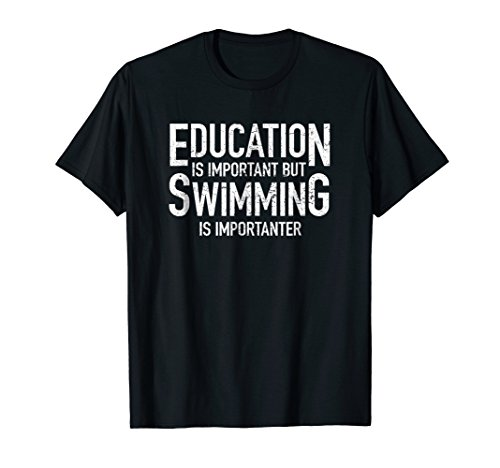 (Funny Sarcastic Saying Swim Shirt Cool Swimmer Gifts Tee)