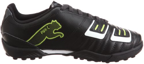 Puma - Zapatillas de deportivo infantil, tamaño 32 UK, color blau Schwarz (black-dark shadow-white-lime punch 02) (Schwarz (black-dark shadow-white-lime punch 02))