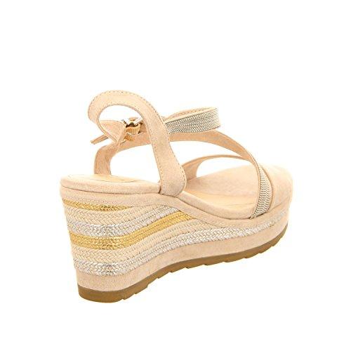 Marco Tozzi 22 28350 28 435 - Sandalias de vestir para mujer DUNE COMB