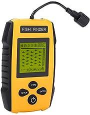 TL88E Buscador de Peces portátil con Sensor de sonda Detector de Profundidad de Profundidad Detector de Peces Accesorio de Pesca