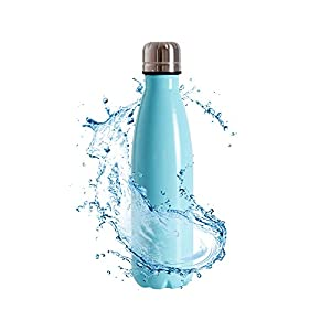 SHAREWIN Cold Double Walled Stainless Steel/Water Bottle丨Vacuum Insulated Water Bottles 12oz(350ml)/Cola Shape Travel Water Bottle/Keeps Your Drink Hot & Cold