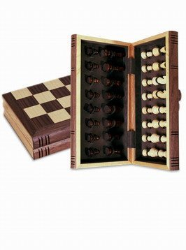 (Sterling Folding Chess Set with Magnetic Closure, 12
