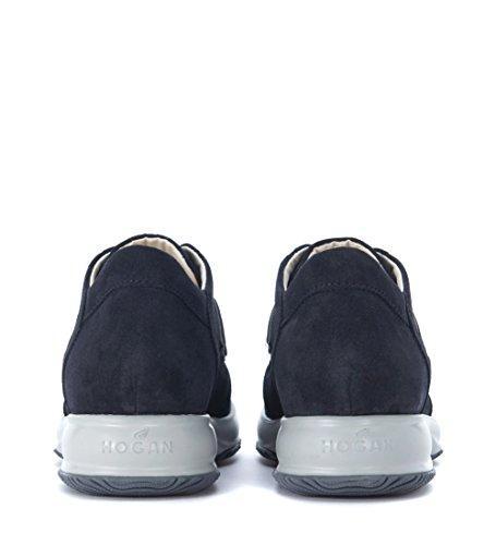 Pago De Salida Con Paypal Hogan Sneaker Interactive in Suede Blu Blu Venta Auténtica Mejor Lugar Precio Barato Almacenar e69uUXqW