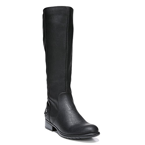 Riding Wide Polyurethane Lifestride Xandywc Boot Women's Black Calf xOffvIwE