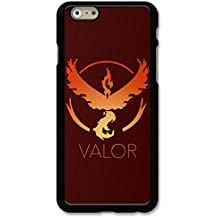 Valor Team Case For Phone Case Back - iPhone 6 / iPhone 6S - Black Rubber