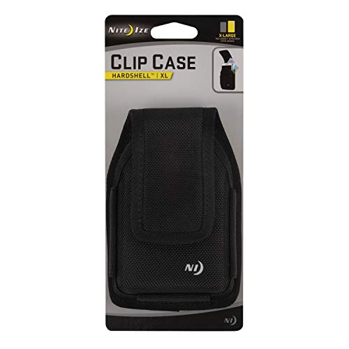 Nite Ize Clip Case Hardshell Phone Holster - Protective, Clippable Phone Holder for Your Belt Or Waistband - Extra Large - -