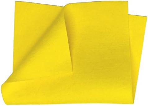 "Mustard 8/"" x 12/"" Sheet 100/% Merino Wool Craft Felt"