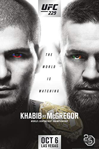 Pyramid America Official UFC 229 Khabib vs Conor McGregor for sale  Delivered anywhere in USA