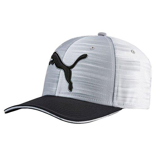 Puma Golf Boy's Go Time Cap, Quarry White, One - Quarry Kids