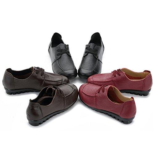 Altijd Mooie Dames Oversized Winter Flats Loafer Schoenen Rijden Schoenen Outdoor Enkellaars Koffie-vacht