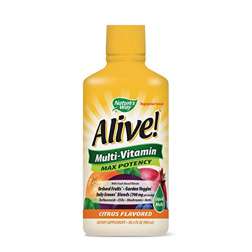 (Nature's Way Alive! Multi-Vitamin Citrus Flavor Liquid)