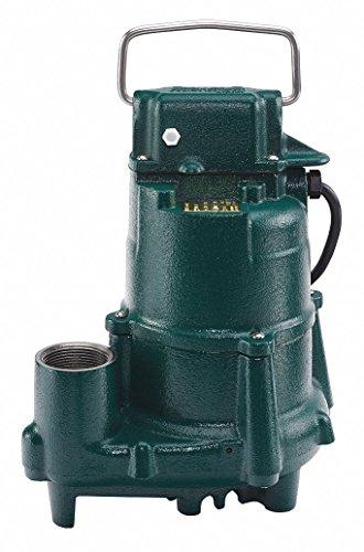 (Model N98 Flow-Mate Non-Automatic Cast Iron Effluent Sump Pump - 115 V, 1/2 HP)