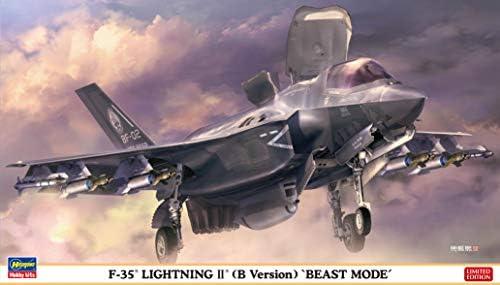 ハセガワ 1/72 F-35 ライトニングII (B型) ビーストモード プラモデル 02306