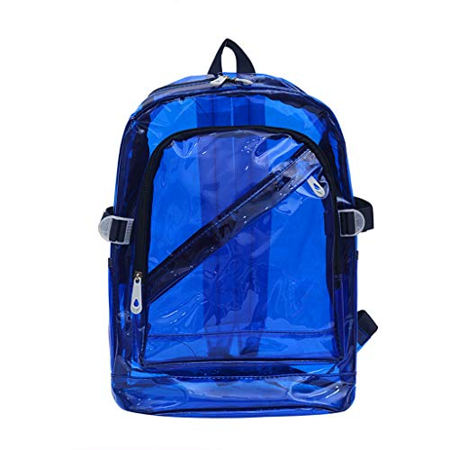 - ChainSee Unisex Backpacks, Outdoor Candy Color Transparent Waterproof Backpack Shoulder Bag School Casual Bag