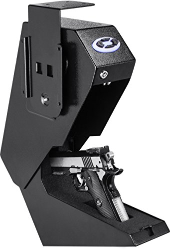 BARSKA Steel Handgun Safe Pistol Desk Drawer Security Box Quick Access