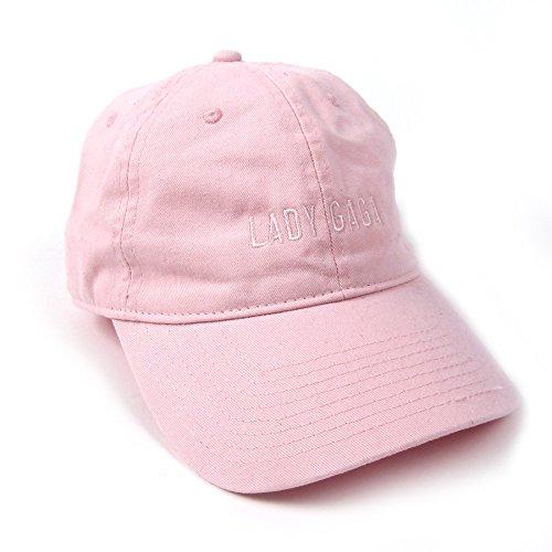 Fedora Hat Pink (Lady Gaga Dad Hat - Pink)