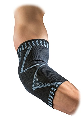 McDavid Custom Recovery Cold Pack Elastic Elbow Sleeve Compression Wrap with Reusable Ice Packs to Reduce Swelling -