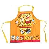 Anpanman [children apron] Kids apron / 100cm Orange Bandai cute characters Toy Store