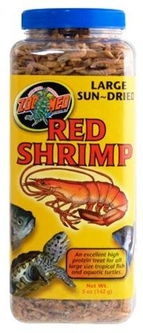 (Zoo Med Large Sun-Dried Red Shrimp (10 oz))