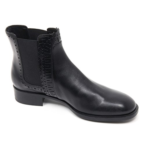 B8335 Woman Basso Nero Beatles Donna Tod's Boot Tronchetto Scarpa Shoe Ha1CqZ