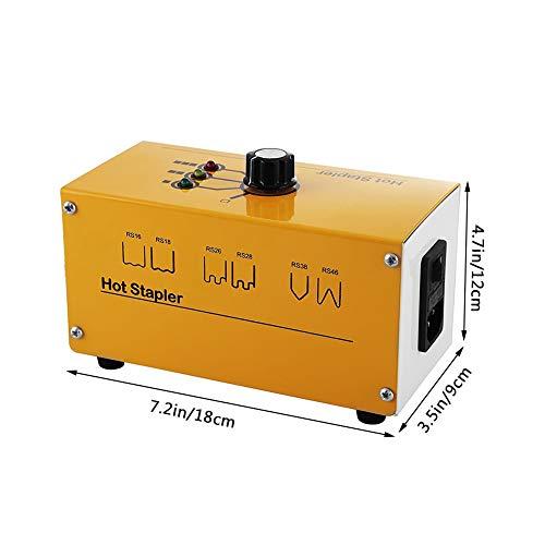 Plastic Welding Machine Portable Hot Stapler Plastic Repair Kit For Plastic Separating Repairing Welding 110V by Bespick (Image #3)