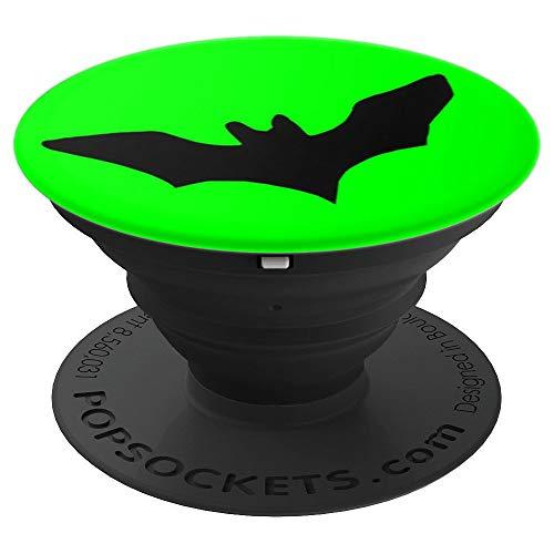 Dark Nocturnal Bat Halloween or Anytime Symbol -