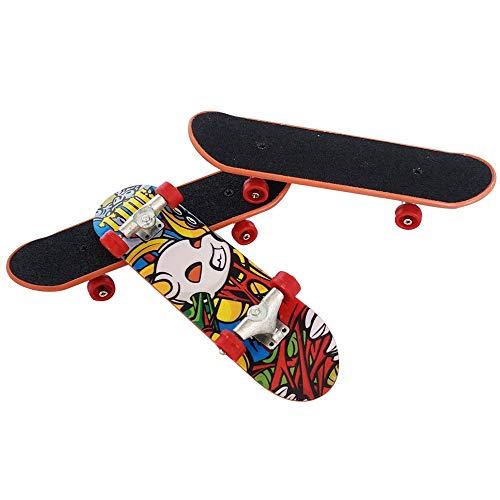 Gtlzlz 20pcs Professional Mini Metal Fingerboards/ Finger Skateboard, Unique Matte Surface Party Favors Novelty Toys for Kids Party Supplies (Random Pattern) by Gtlzlz (Image #3)