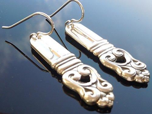 (International Royal Danish 1939 Earrings Sterling)
