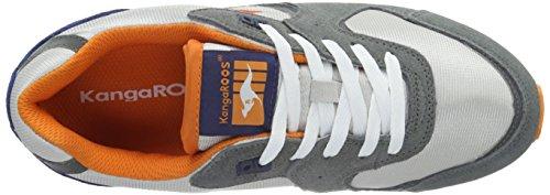 Kangoeroes Unisex-volwassenen Coil-r2 Low-top Grau (mid Grijs / Lt Grijs 223)