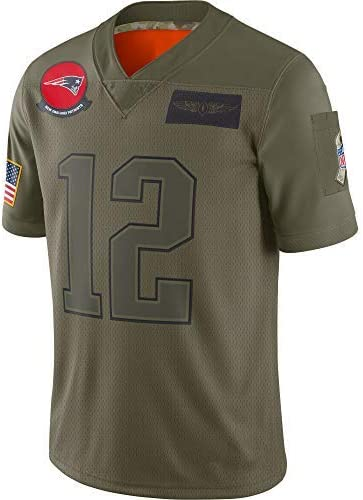 L YSA Maillot Swingman Jersey Mesh Basketball Homme Tom Brady New England Patriots # 12