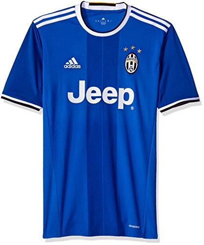International Soccer Juventus Men's Jersey, XX-Large, Vivid Blue/White