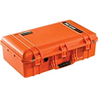 Pelican Colors series. Orange Pelican 1555 case. With Foam.