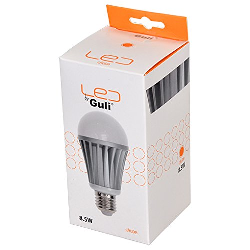 Guli Ivy Bombilla LED 27000 K E27, 8,5 W, Blanco, Ø60 x 120 mm: Amazon.es: Bricolaje y herramientas